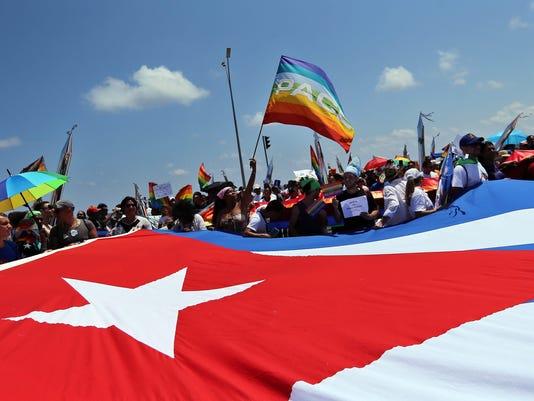 EPA CUBA HOMOSEXUALS HUM PEOPLE CUB