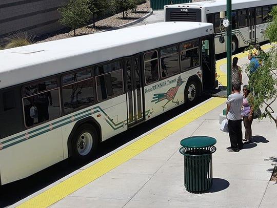 RoadRUNNER Transit will sponsor a fare-free week May 13-17,.