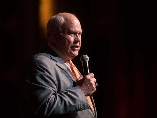 University of Tennessee athletic director Phillip Fulmer