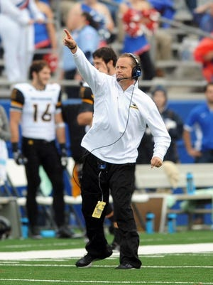 Southern Miss head coach Todd Monken has led the Golden Eagles to a 9-4 record in 2015.