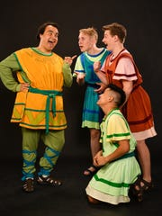 Henry Ballesteros as Pseudolus with The Proteans-Ben