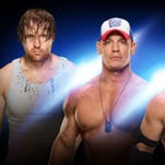 WWE LIVE returns to Giant Center Saturday, Sept. 24 for a 7:30 p.m. show. The night features all the WWE Superstars, including John Cena vs. AJ Styles, and Dean Ambrose vs. Dolph Ziggler vs. Bray Wyatt in a Triple Threat Match.
