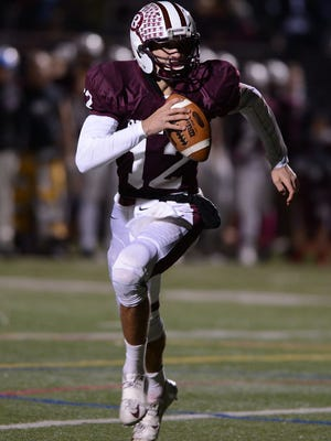 Ridgewood quarterback Jack Barclay will have to make good reads against Passaic Tech.