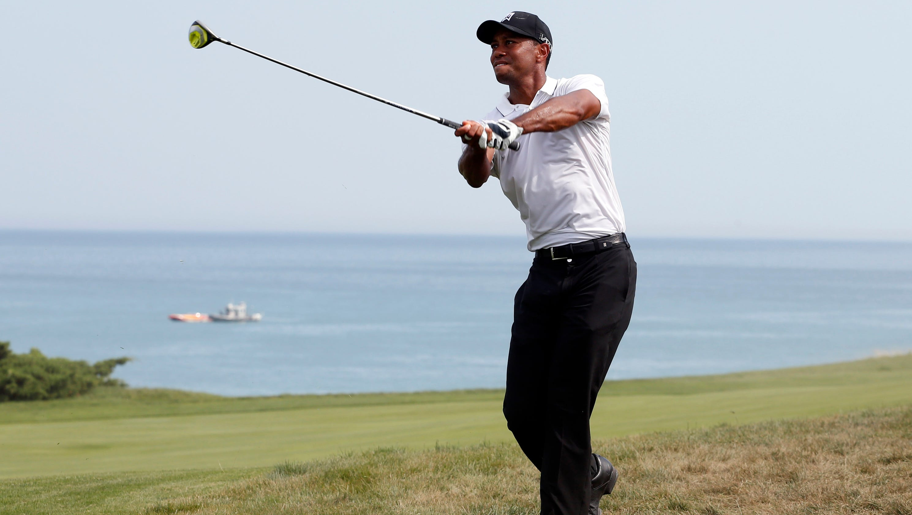 tiger woods misses cut at pga championship  commits to