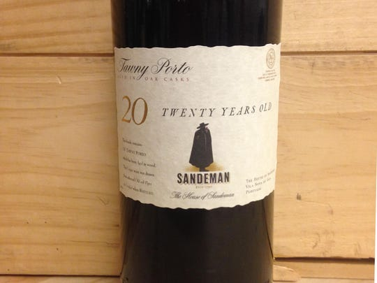 Sandeman 20 Years Old Tawny port.