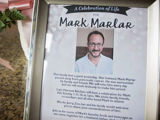 Some 300 diners and restaurant workers honored Marlar during a remembrance Jan. 31 at Late Harvest Kitchen.