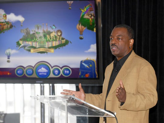 """Reading Rainbow"" host LeVar Burton will give a talk"