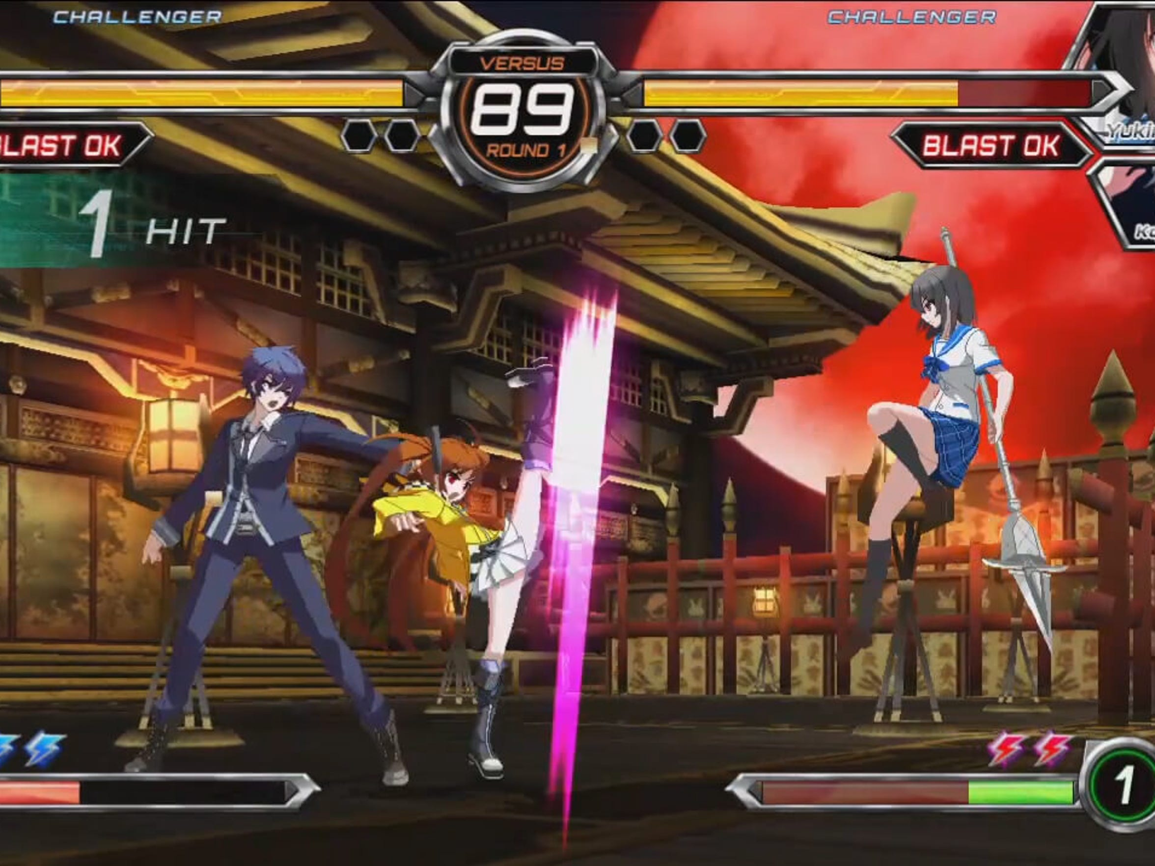 "Characters from various Japanese light novels and anime clash in ""Dengeki Bunko: Fighting Climax."""