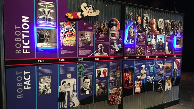 'Popnology' offers a tour of science fact vs. science fiction including this timeline of robots in film.