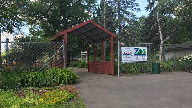 The Wisconsin Rapids Municipal Zoo.