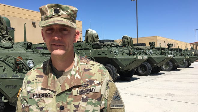 Lt. Col. Brian Hallberg has led the 16th Engineer Battalion for the past two years. He also served as the rear detachment commander for 1st Brigade during its deployment to Afghanistan. Hallberg is scheduled to relinquish command of the 16th Engineers on Nov. 16.
