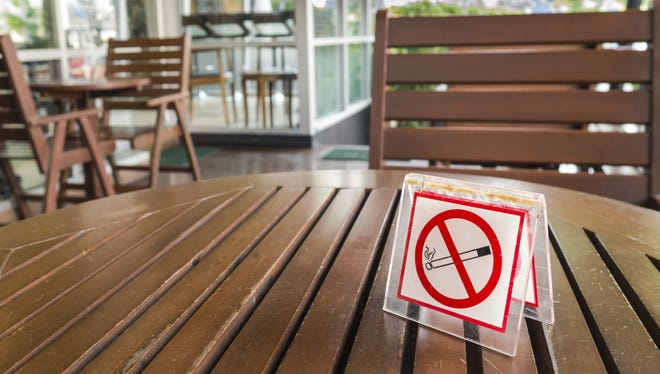 A group of Mesquite residents has proposed banning smoking in areas including  indoor workplaces and within 25 feet of certain buildings.