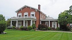 A view of the Wing-Allore House on East Elm