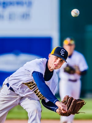 Wyatt Rush and Grand Ledge are No. 10 in Division 1 in the latest state baseball rankings.