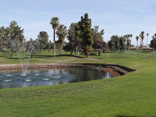 After being closed in 2015, what was the Rancho Mirage Country Club course has been watered and turned green again in the last year.