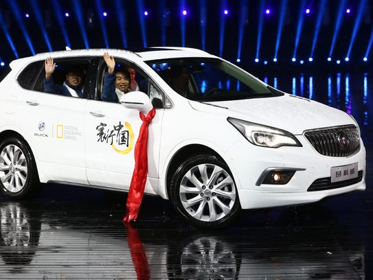 The Buick Envision is already on sale in China and