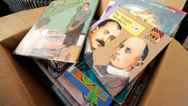 First German Lutheran School to hand out free children's books.