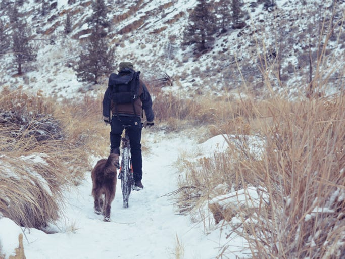 From the tame to the exotic, these alternative winter sports will keep you outside and in shape until all the snow finally melts away. Fat biking: Fat bikes, which have large forks and huge nubby tires, were invented so that Alaskans could commute by bike. However, in the past few years winter biking has turned into a much more recreational activity. Fat bikes have become exceedingly popular in the Midwest where the terrain isn't too ideal for skiing. Instead, rolling trails and frozen lakes lend themselves nicely to wintertime cycling with fat bikes. Fat-bike rentals are popping up in ski towns across the West. From Minneapolis to Jackson Hole, there are a variety of places where you can easily try the sport out for yourself.