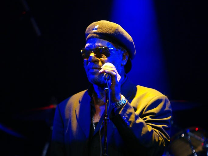 """WILLIAM 'BUNNY RUGS' CLARKE   Feb. 2 (age 65)   Even Stevie Wonder admired the reggae star's voice, says Third World bandmate Willie Stewart. """"When Bunny hit those high notes in 'Try Jah Love,' you would see a big smile on Stevie's face while he swayed his head from side to side in great approval that this man had the pipes (to) deliver his song,"""" Stewart told USA TODAY."""