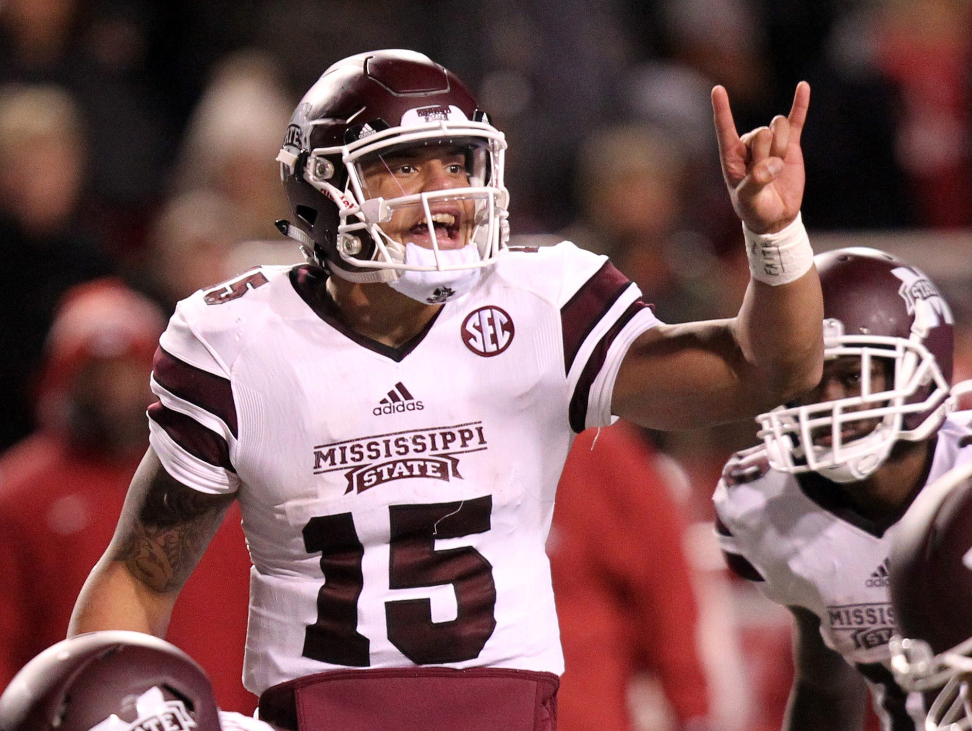 Mississippi State's Dak Prescott gives the Bulldogs an advantage when their offense is on the field.