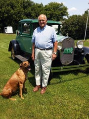 Jack Frohm, pictured with Honey, still drives the 1931 Model A.