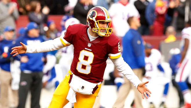 Redskins QB Kirk Cousins had a record-setting year for his team.
