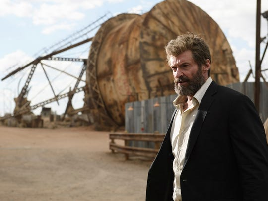 "Hugh Jackman in a scene from ""Logan."""