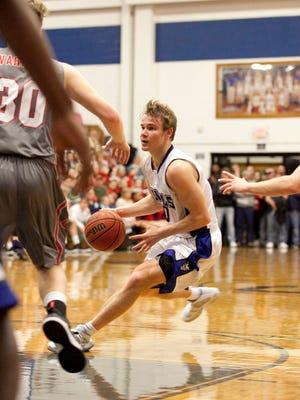 Mac McClung helped lead Gate City past Wise County Central for the district title last month. MUST CREDIT: Photo for The Washington Post by Timothy C. Wright