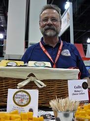 Joe Widmer of Widmer's Cheese Cellars, Theresa, likes