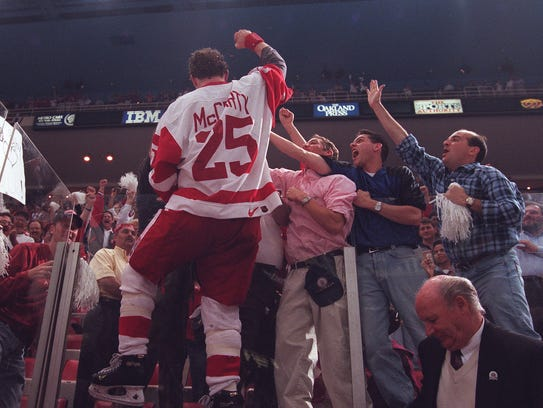 June 7, 1997: The 42-year Cup drought is over. Finally.