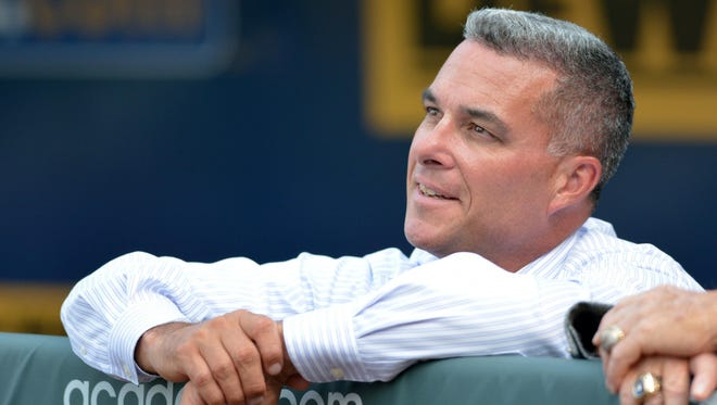 """""""When you sit down with young men and they open up and talk about their struggles, often times you can trace it back to pornography.,"""" says Royals GM Dayton Moore."""