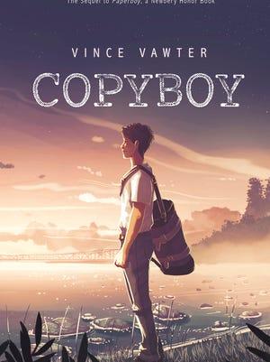"""Copyboy,"" the new middle-grade novel by Vince Vawter."