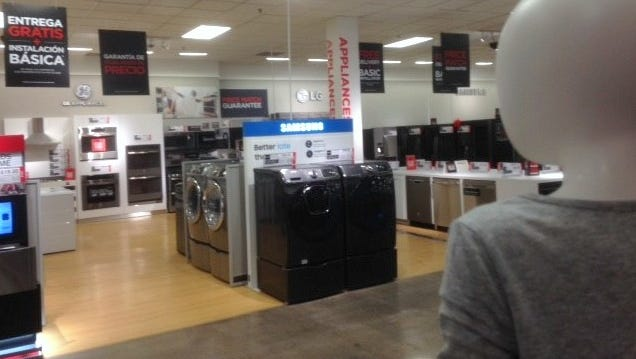 JC Penney is now selling major appliances at many of its stores, including at Cielo Vista Mall in El Paso.