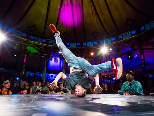 The free Fringe Street Beat dance competition will