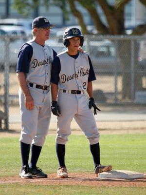 Former Desert Vista head baseball coach Stan Luketich.