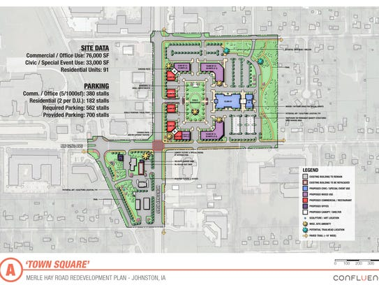 Johnston has unveiled plans for a $100 million Merle