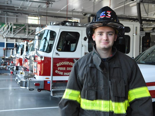 Sept. 11 firefighter's son