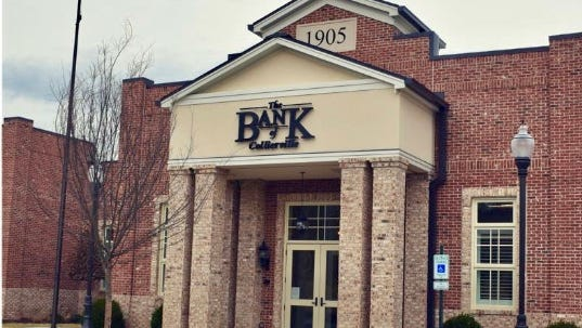 The Bank of Collierville, a branch of The Bank of Fayette County.