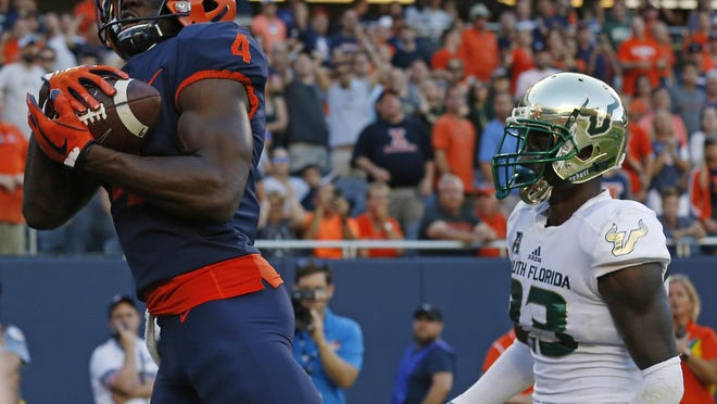 Illinois receiver Ricky Smalling will not return to the team this season.