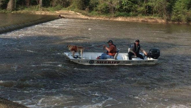 The body of a woman was recovered from the Bogue Chitto River on Wednesday.