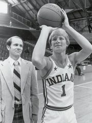 Roger Harden of Valparaiso, 1982 Indiana Mr. Basketball.
