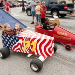 Fountain Inn's third annual Soap Box Derby will coincide with opening day of the 2015 Farmer's Market season on May 30.