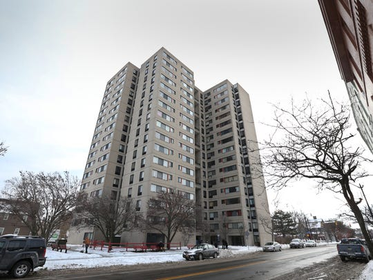 Southview Towers apartments on South Avenue in Rochester