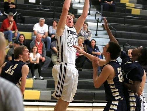 Tuscola freshman Landon Henley.