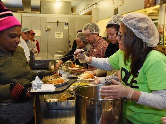 Eileen Hickey Thanksgiving dinner