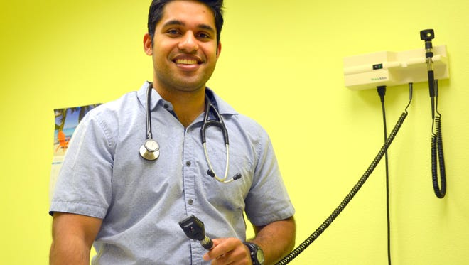 UNM medical student Clement Jose is wrapping up a six-week stint with Dr. George Williams at Mimbres internal Medicine. He has organized a health fair for 10 a.m. on Thursday, July 26 at the Deming Senior Citizen's Center, 800 S. Granite St.
