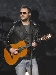 Eric Church performs during the 51st Academy of Countty