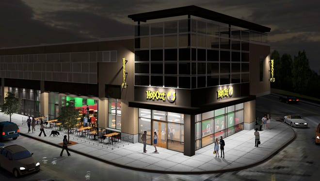 HopCat will open this summer in 9,600 square feet of space in the Broad Ripple Parking Garage and Shoppes. Patrons can expect half of the craft beer choices among the 130 kegs to be local brews.