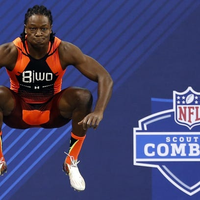 The NFL scouting combine will be held this week in