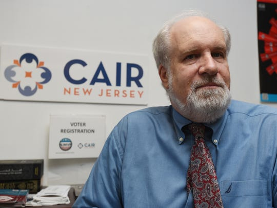 South Plainfield, New Jersey  --  September 4,   2016  --- Jim Sues is the Executive Director of the New Jersey Chapter of the Council on American-Islamic Relations. Here he is in his South Plainfield office where he wa interviewed.   --  CHRIS PEDOTA / THE RECORD